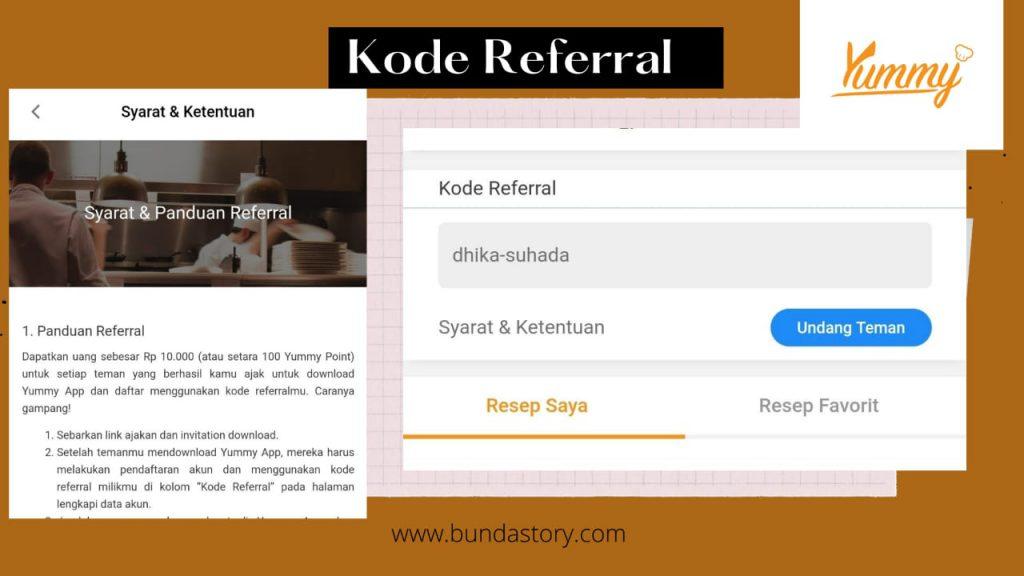 kode referral
